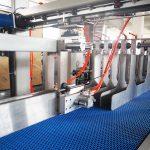 Pakêtê Kartona Kêşanê ya Packer Boter Carton Case Packer Machine For Oil Lubricating