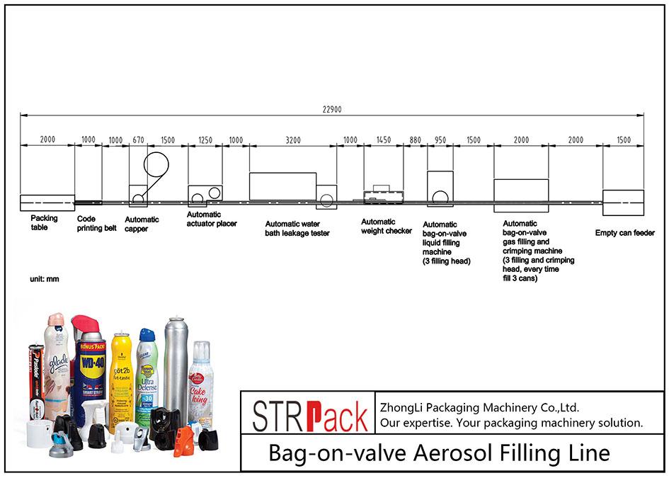 Moşena tijî ya Aerosol-a Bagera xweser-li-valve