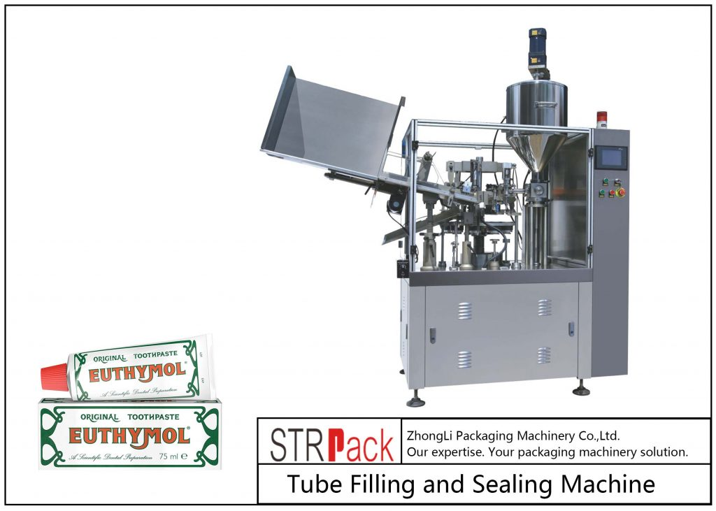 SFS-60Z Pergala Paqijkirin û Sealing Metal Tube Metal