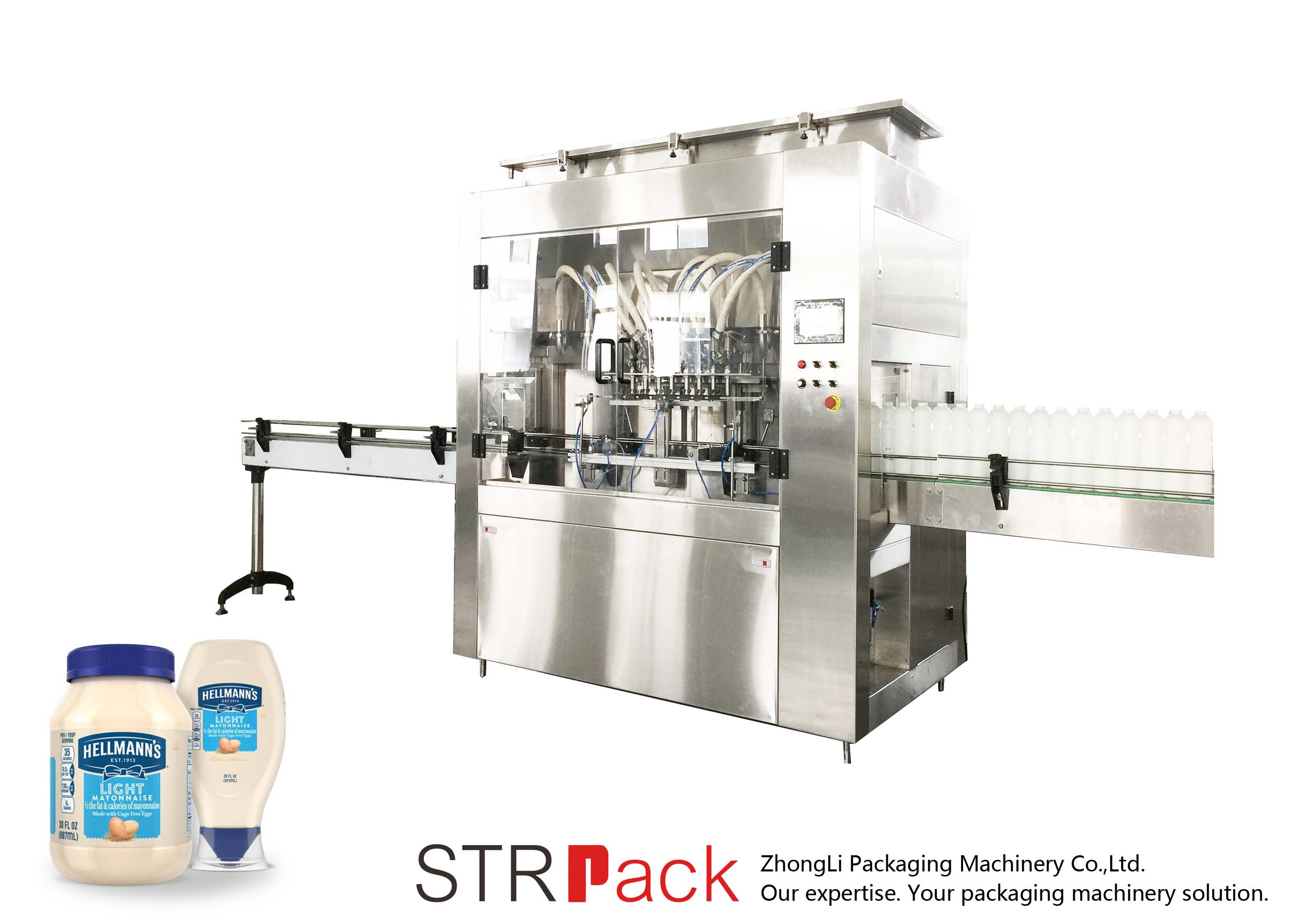 STRRP Rotor Pump Filler Machine