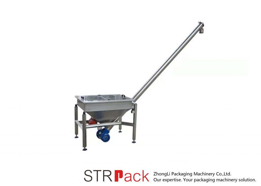 Vibrating Hopper Included Screw Conveyor